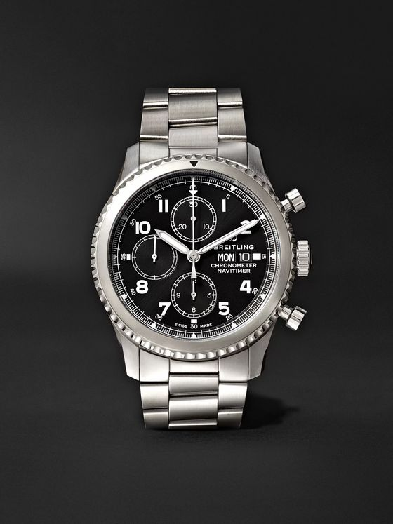 Breitling Navitimer 8 Chronograph 43mm Steel Watch, Ref. No. A13314101B1A1