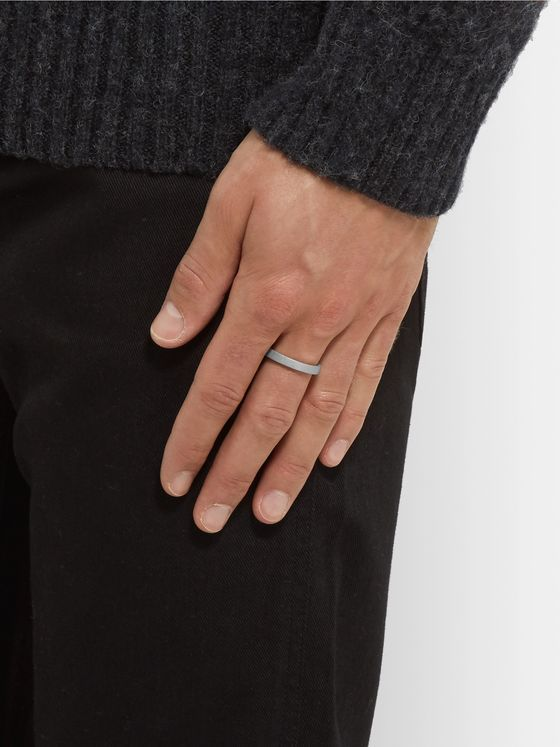 ALICE MADE THIS M4 Bancroft Matte Silver Ring
