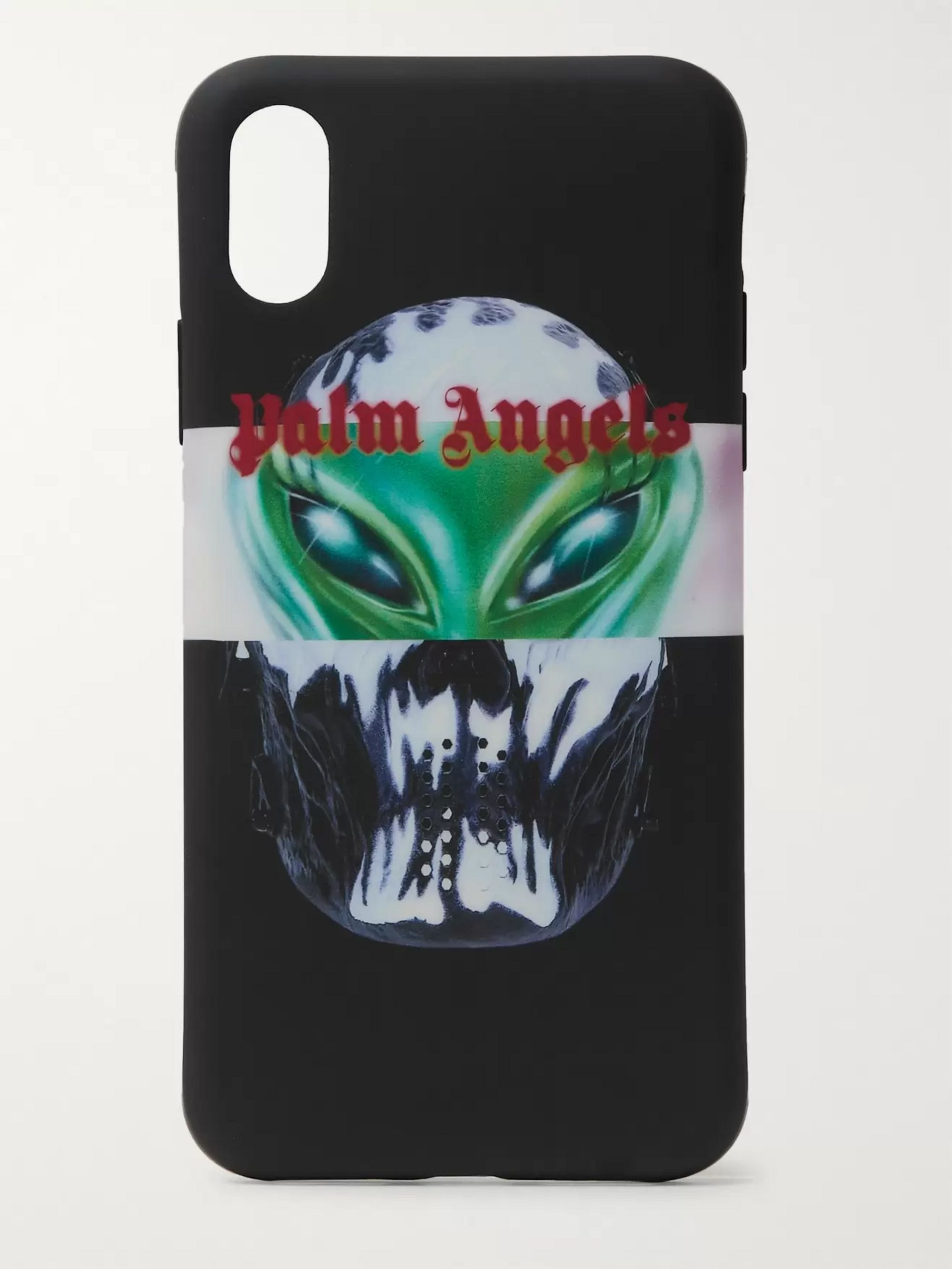 Palm Angels Printed Rubber iPhone X Case