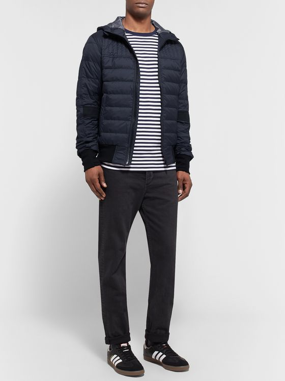 Canada Goose Cabri Slim-Fit Quilted Nylon-Ripstop Hooded Down Jacket