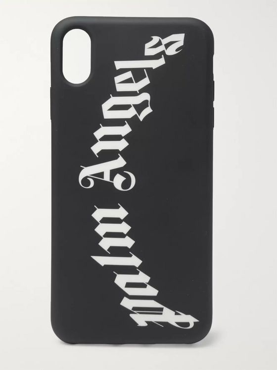 Palm Angels Logo-Print iPhone XS Max Case