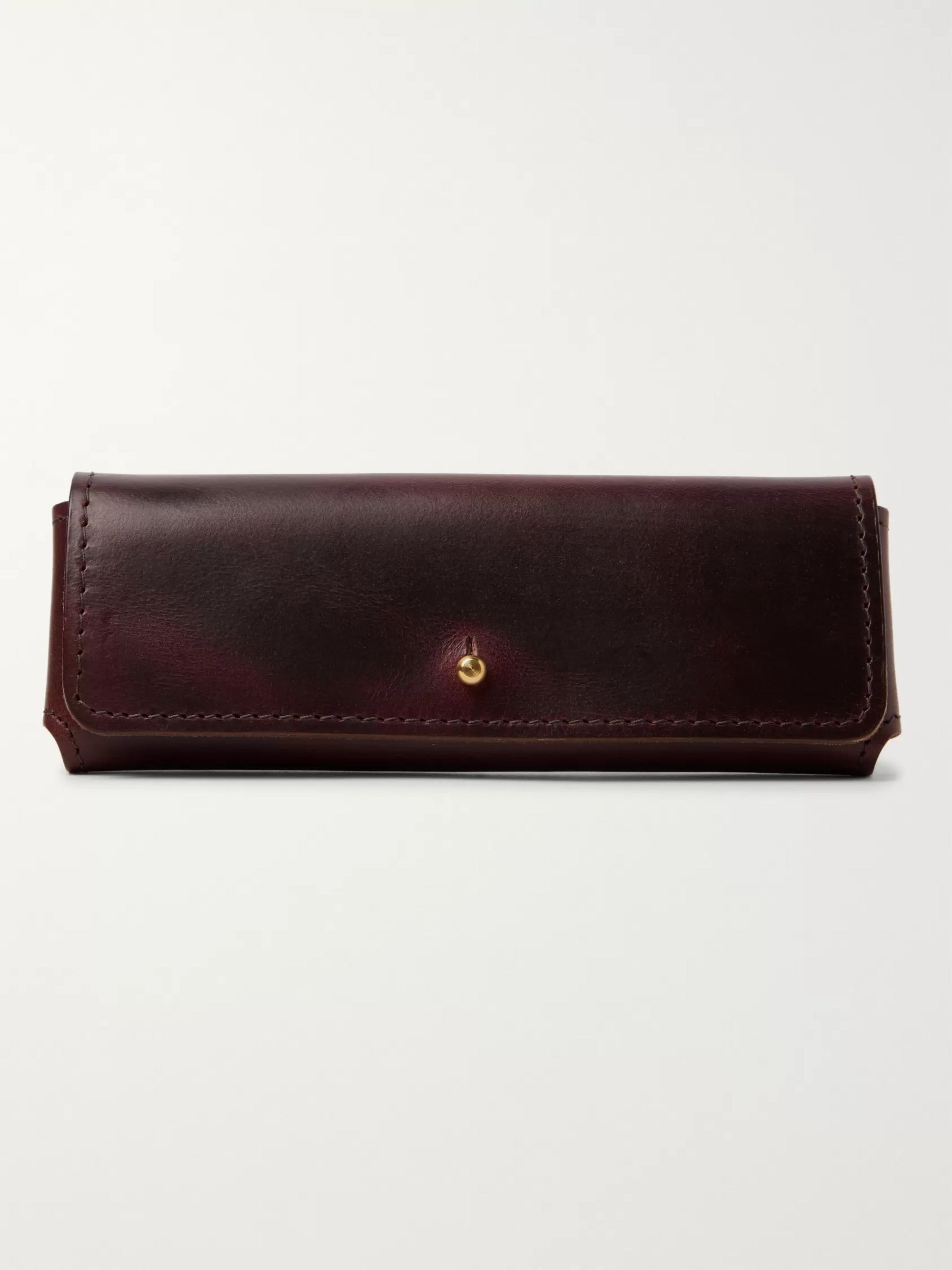 Leather Sunglasses Case by Cubitts