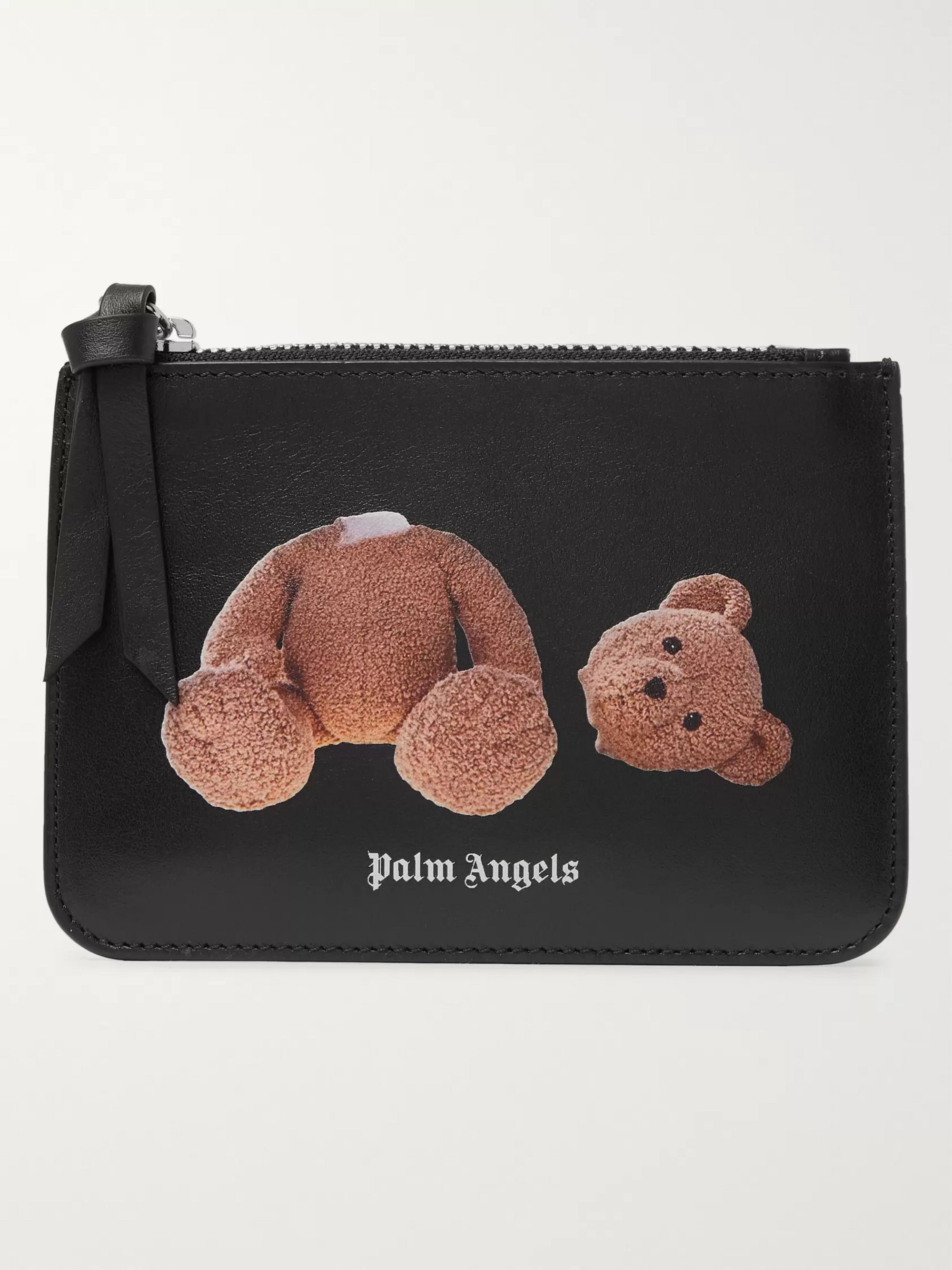 Palm Angels Printed Leather Wallet