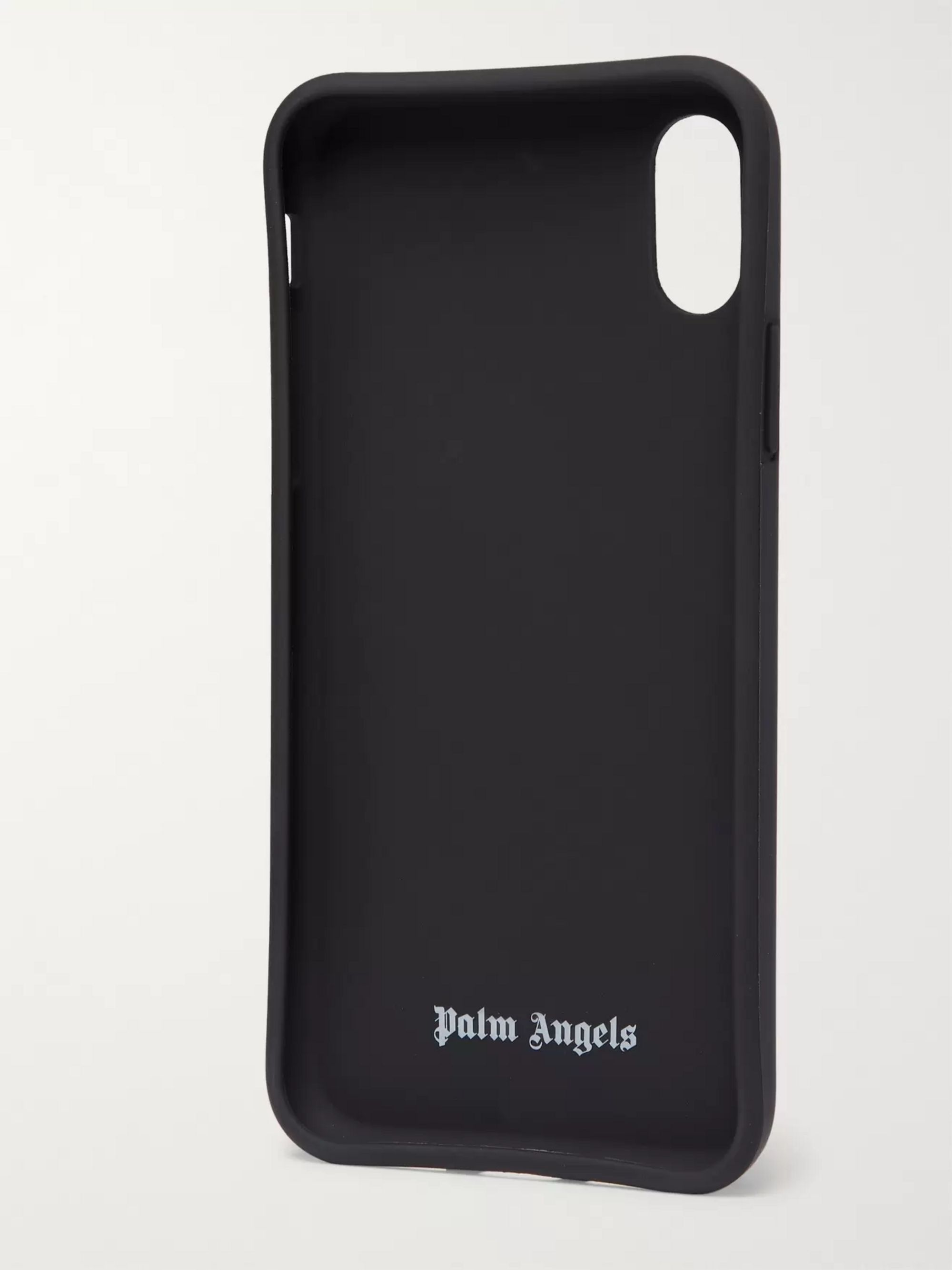 Palm Angels Logo-Print IPhone X Case