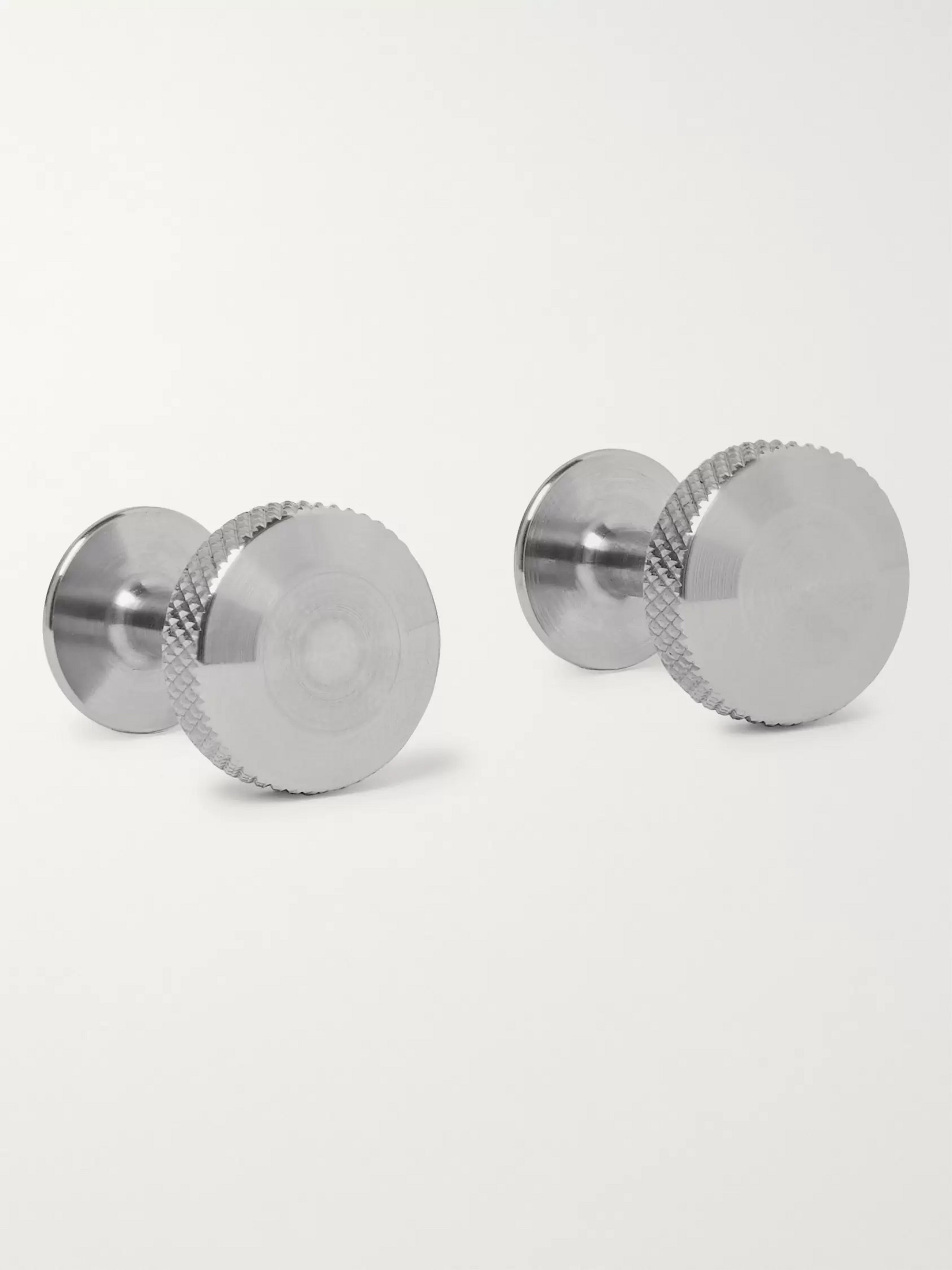 Alice Made This Alexander Steel Cufflinks