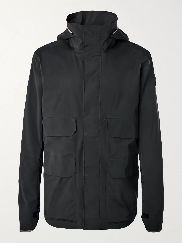 canada goose - meaford shell jacket - men - black