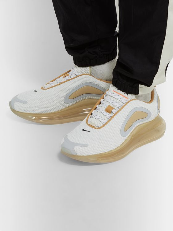 Nike Air Max 720 Suede-Trimmed Mesh Sneakers
