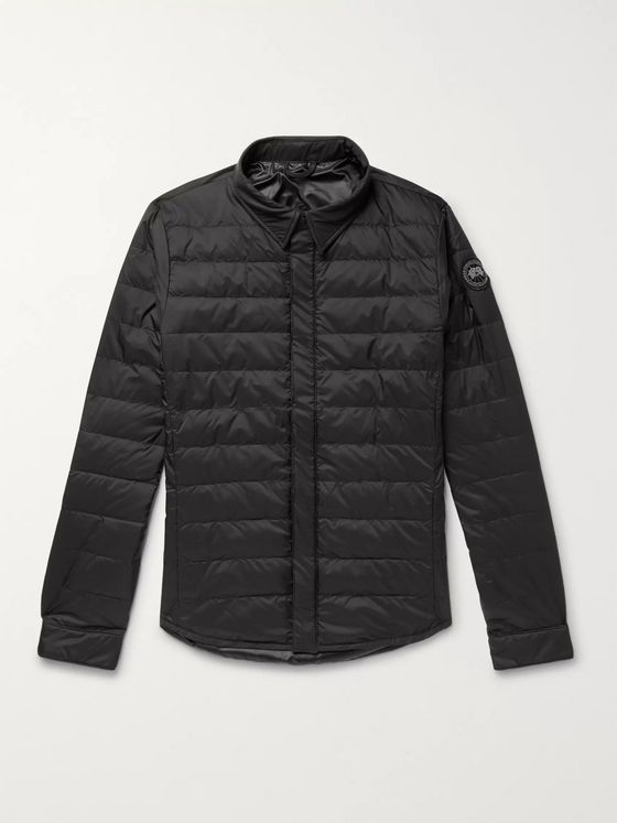 Canada Goose Jackson Slim-Fit Quilted Nylon Down Shirt Jacket