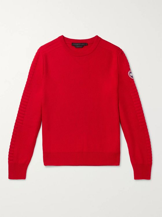 Canada Goose Patterson Merino Wool Sweater