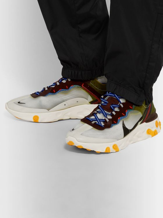 Nike React Element 87 Ripstop Sneakers