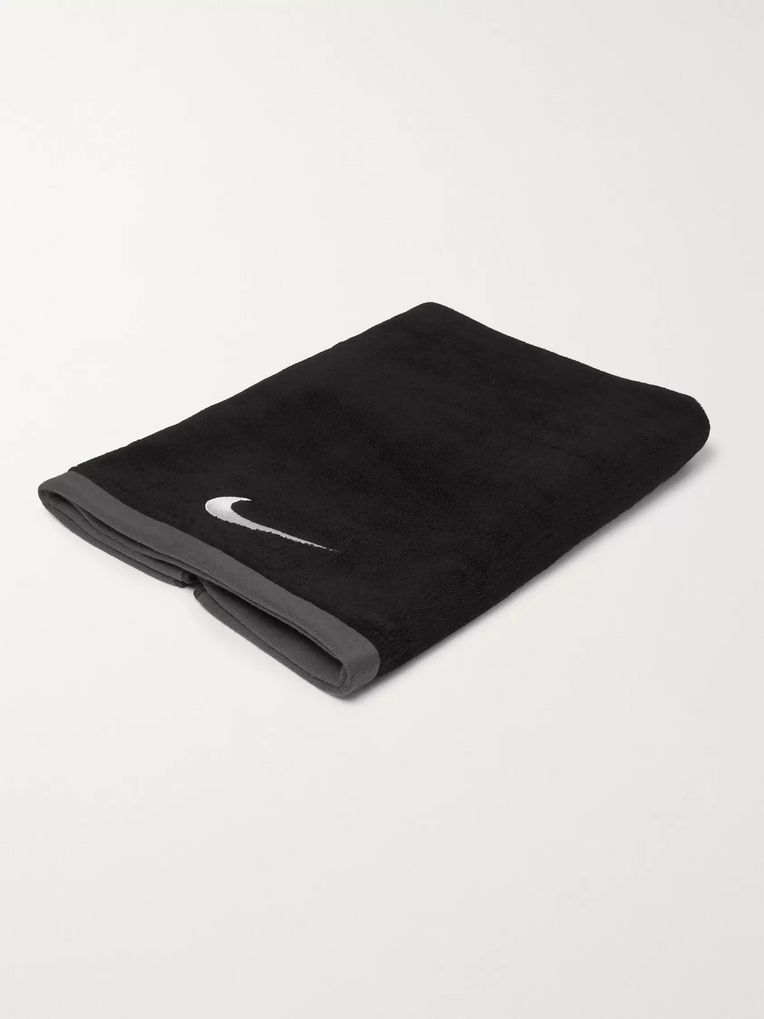 Nike Fundamental Cotton-Terry Sports Towel