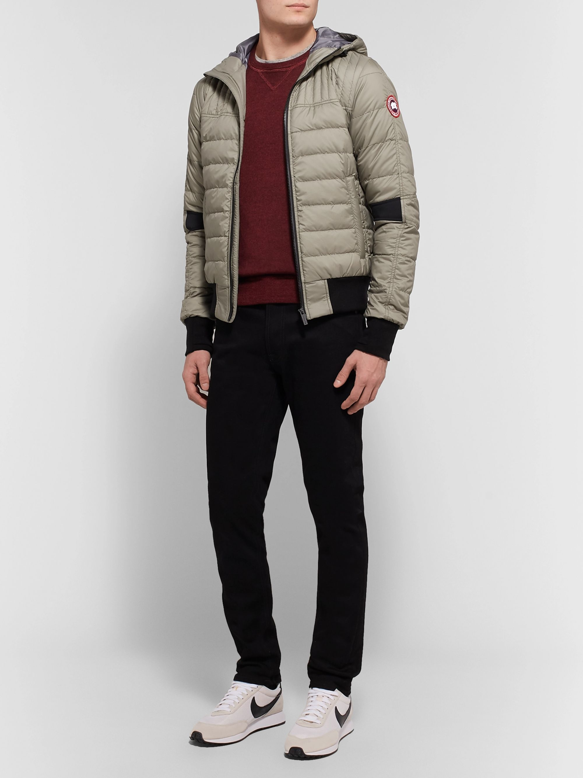 Canada Goose Cabri Quilted Nylon-Ripstop Hooded Down Jacket