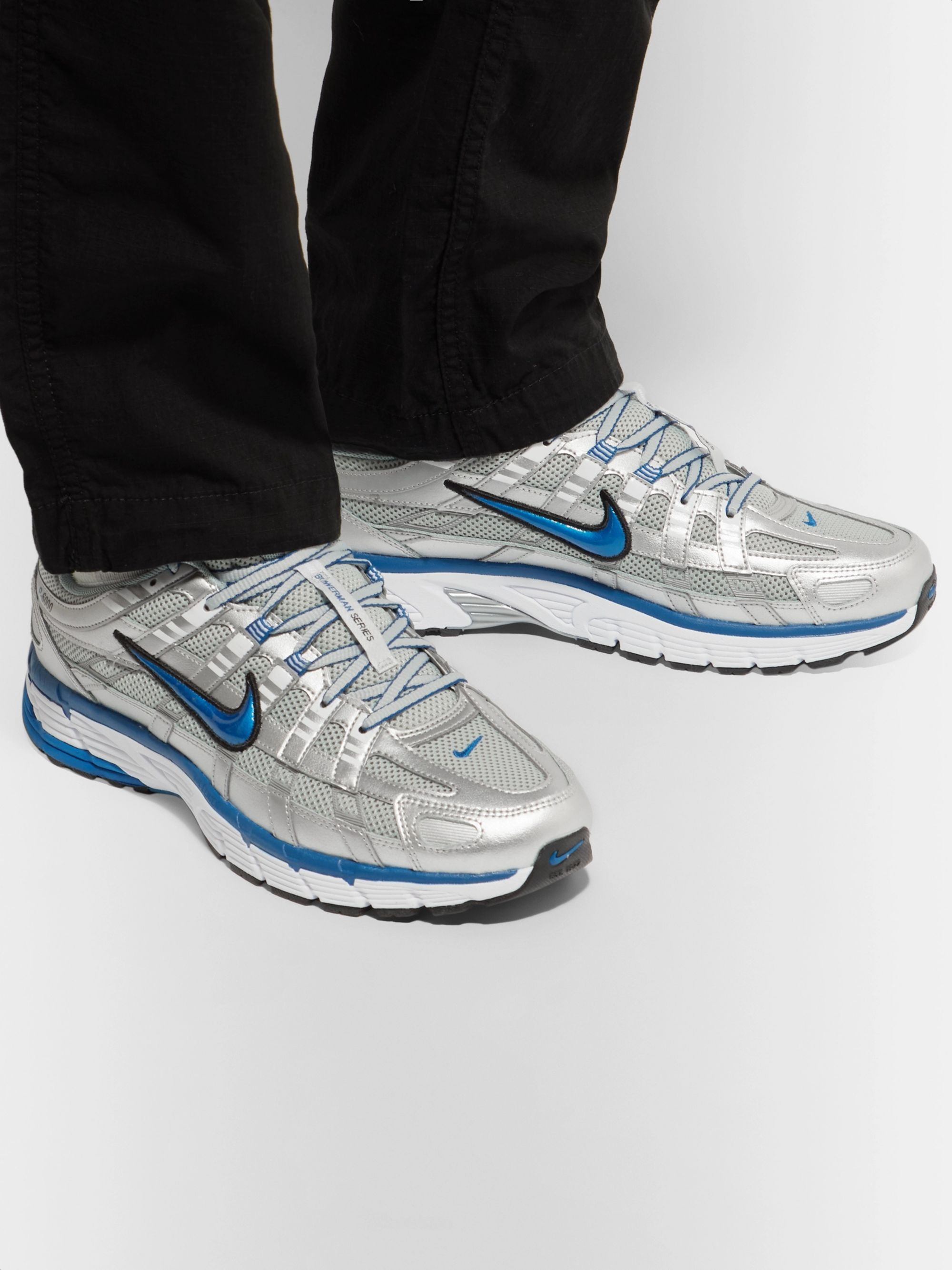 Shoes Nike P 6000 Metallic SilverTeam Royal