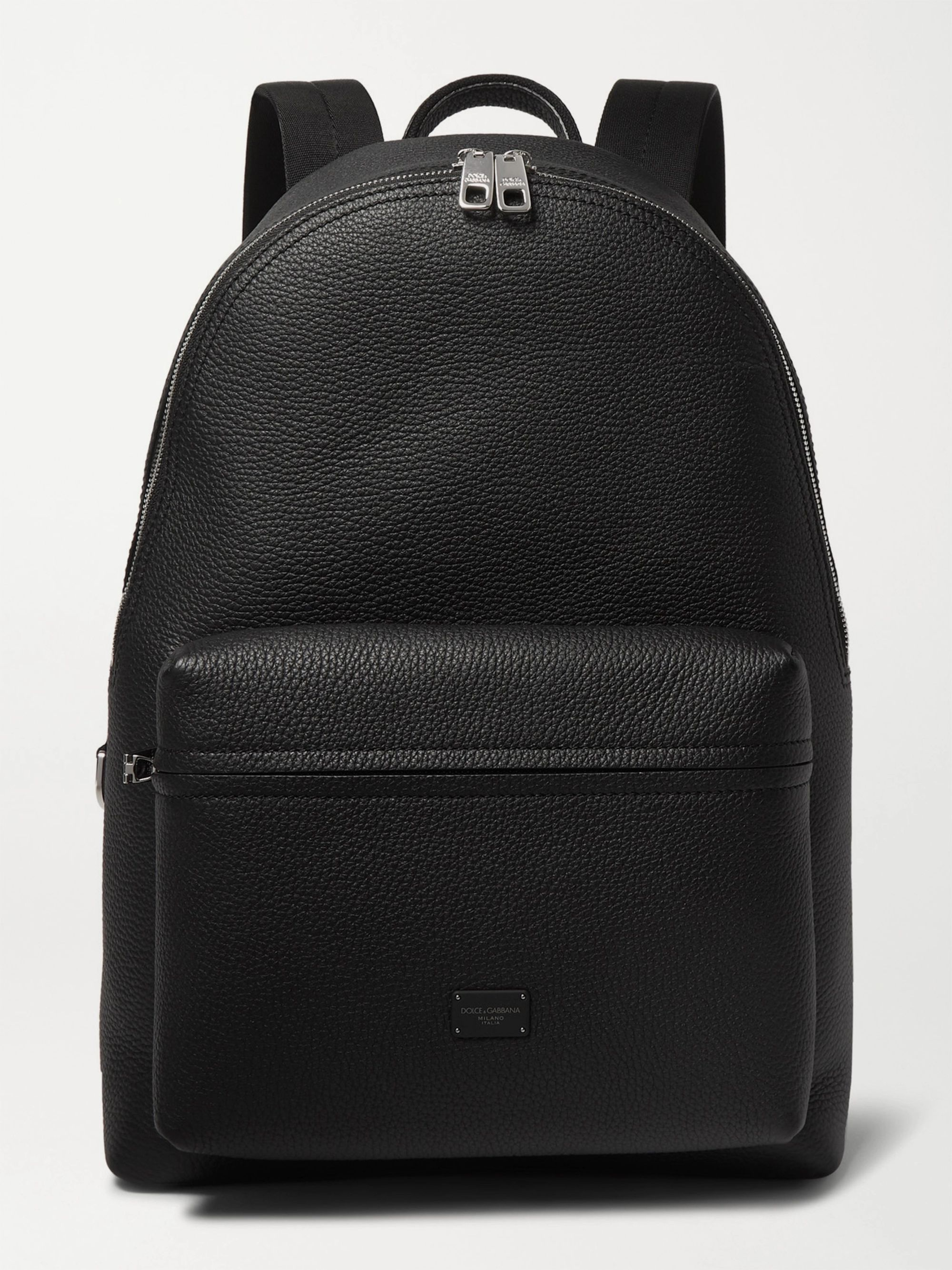 Dolce & Gabbana Full-Grain Leather Backpack