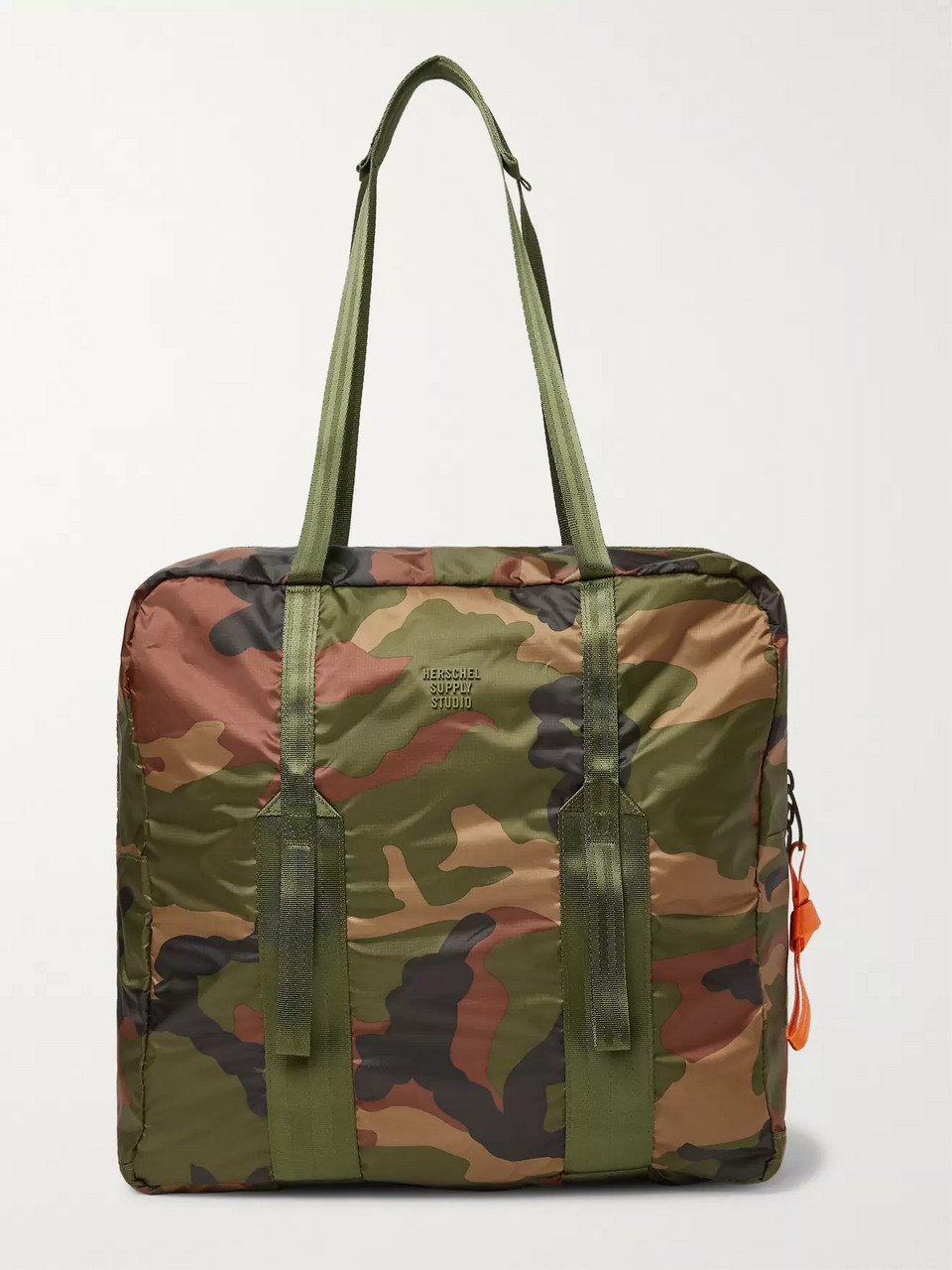 Herschel Supply Co Studio City Pack HS7 Camouflage-Print Ripstop Tote Bag