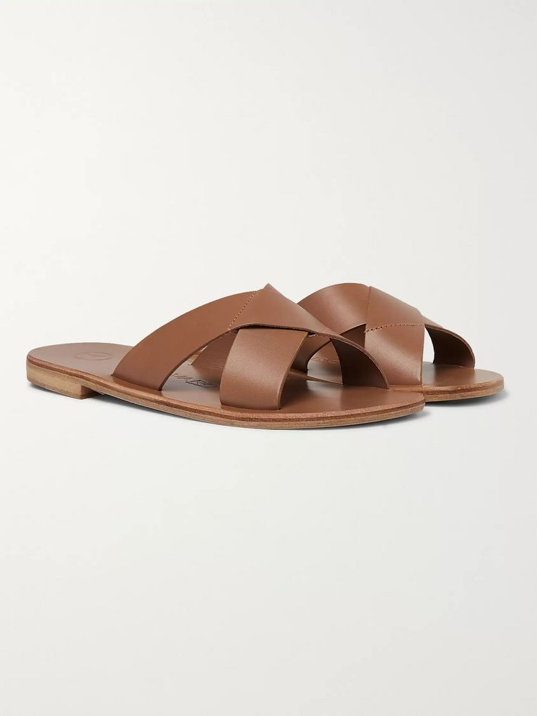 Álvaro Antonio Leather Sandals