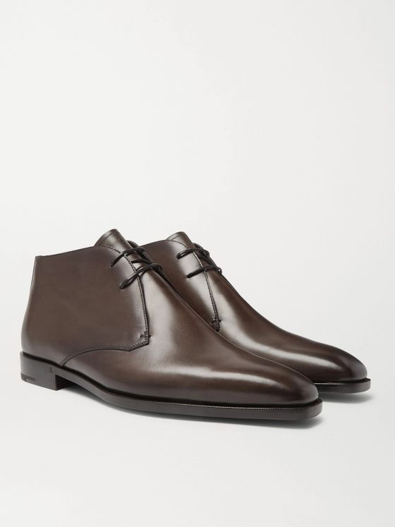 BERLUTI Leather Chukka Boots