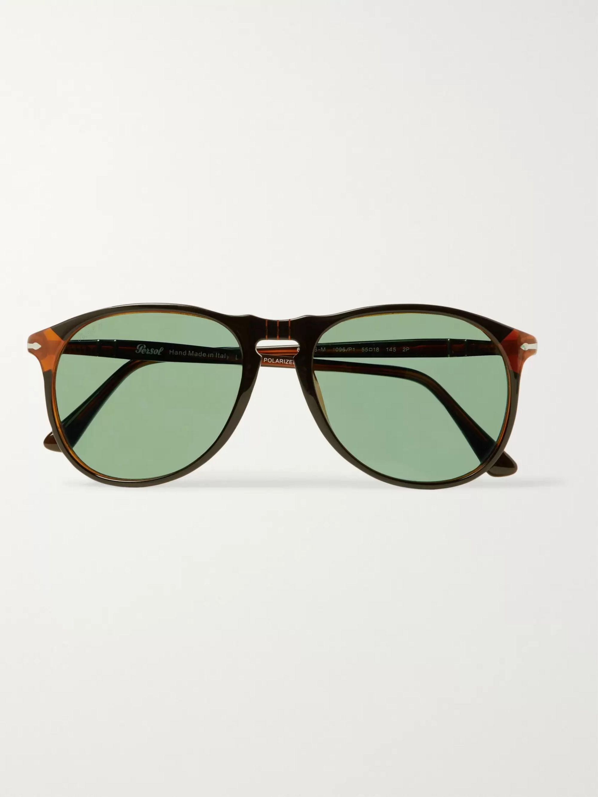 D Frame Acetate Polarised Sunglasses by Persol