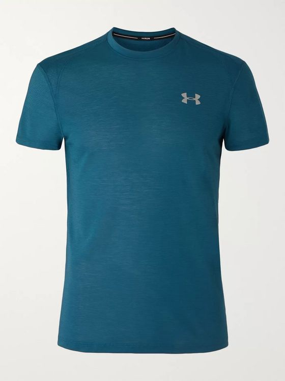 Under Armour UA Streaker 2.0 Mesh-Panelled Microthread T-Shirt