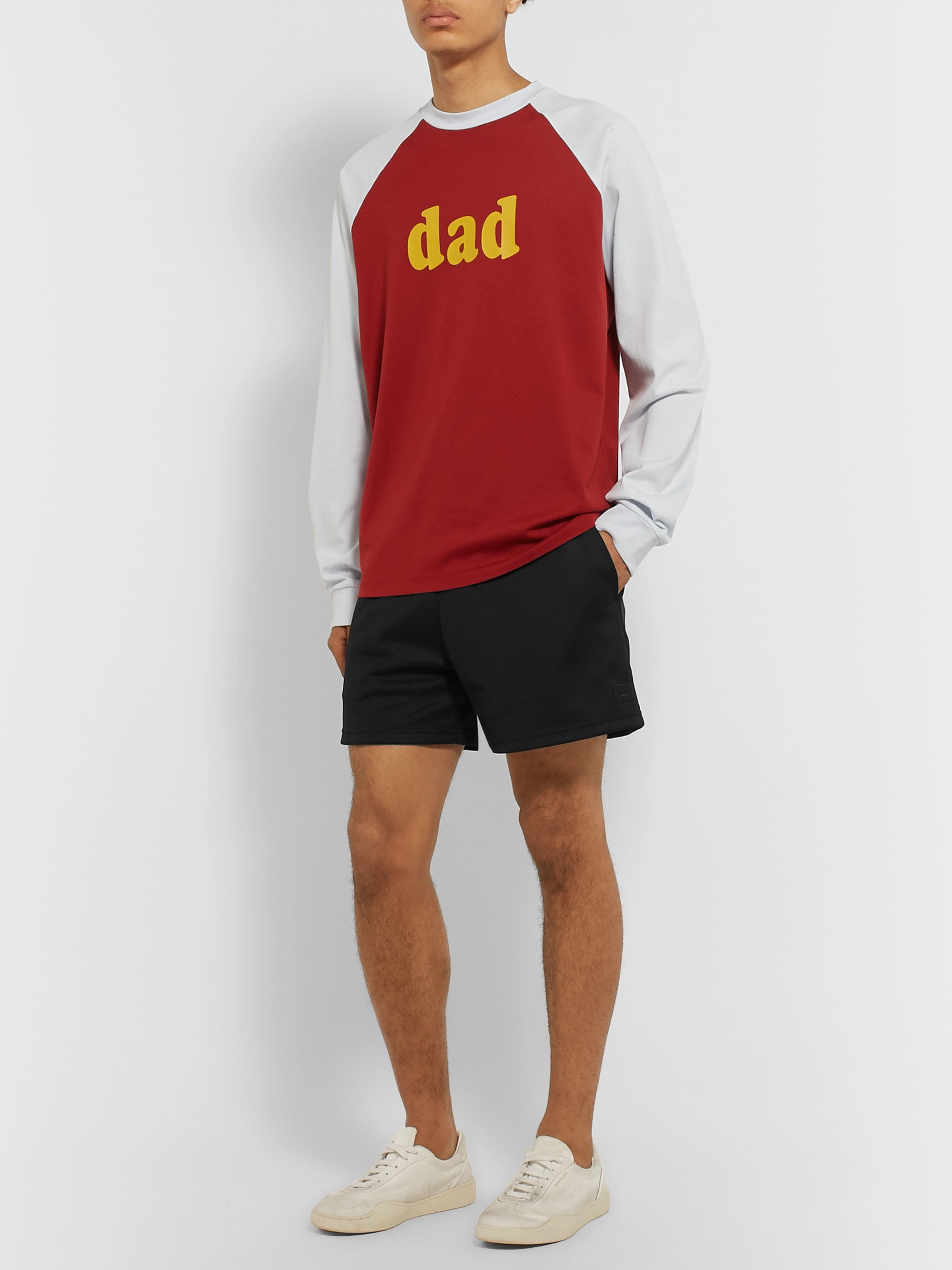 Acne Studios Tech-Jersey Shorts