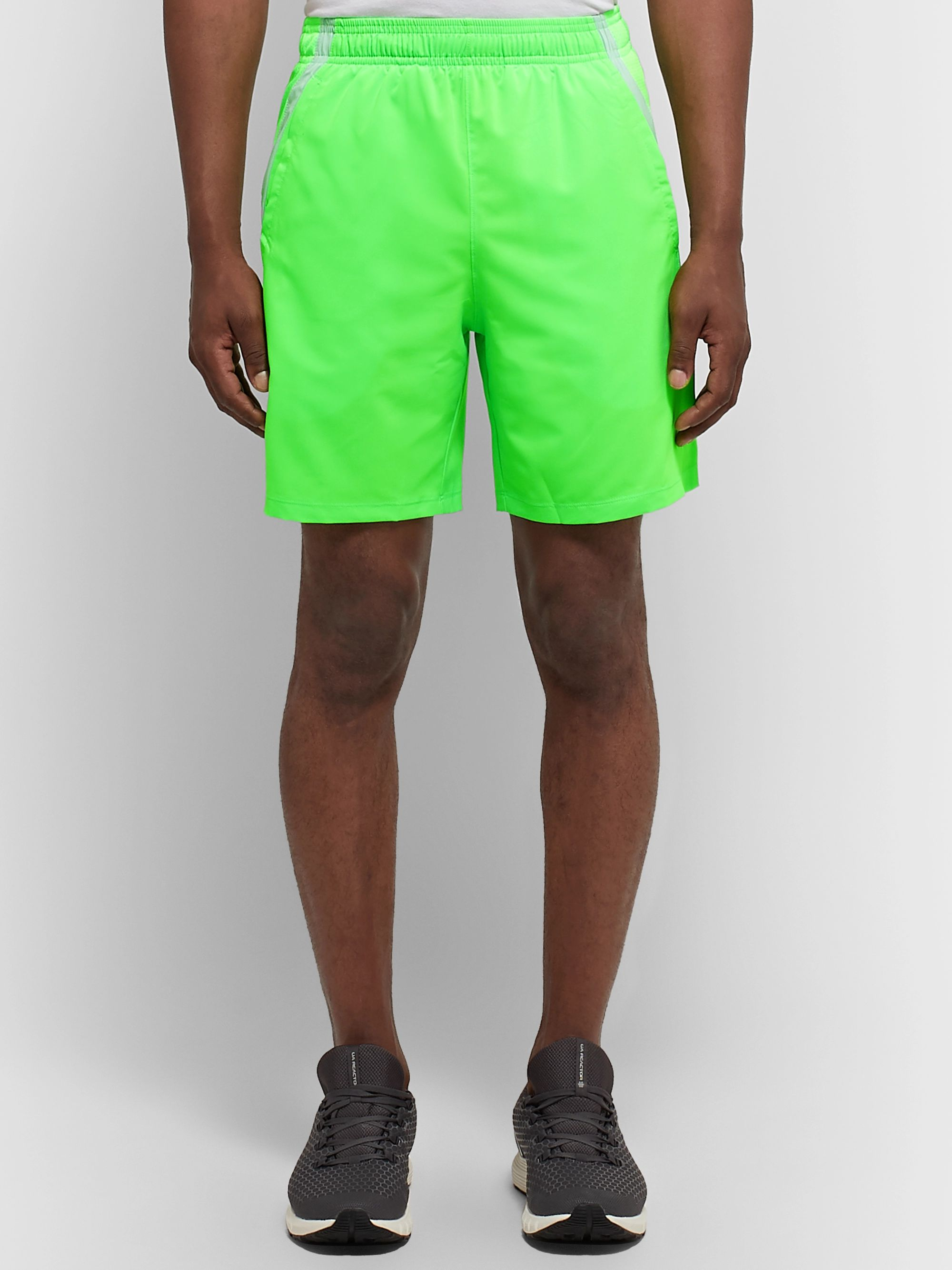 Under Armour Launch Mesh-Panelled HeatGear Shorts