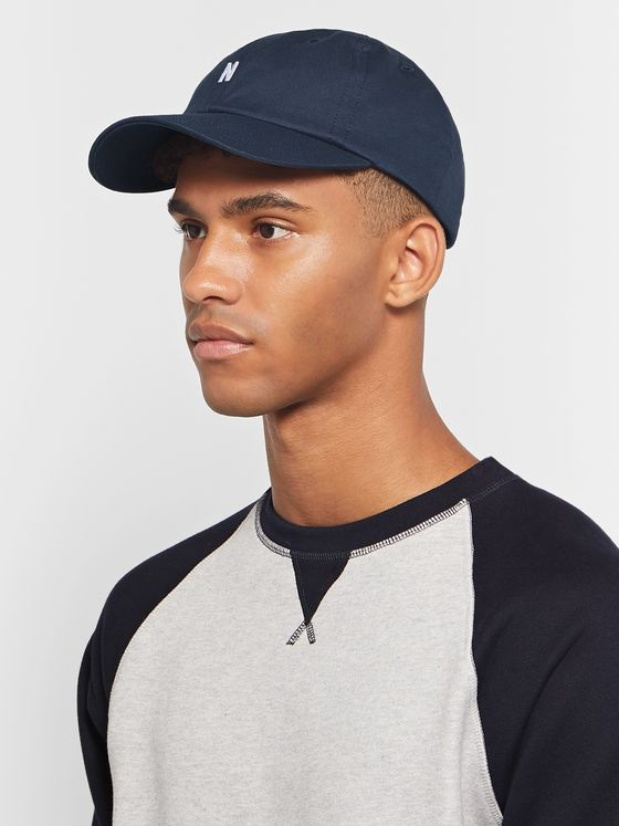 Norse Projects Logo-Embroidered Cotton-Twill Baseball Cap