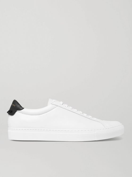 GIVENCHY Urban Street Leather Sneakers