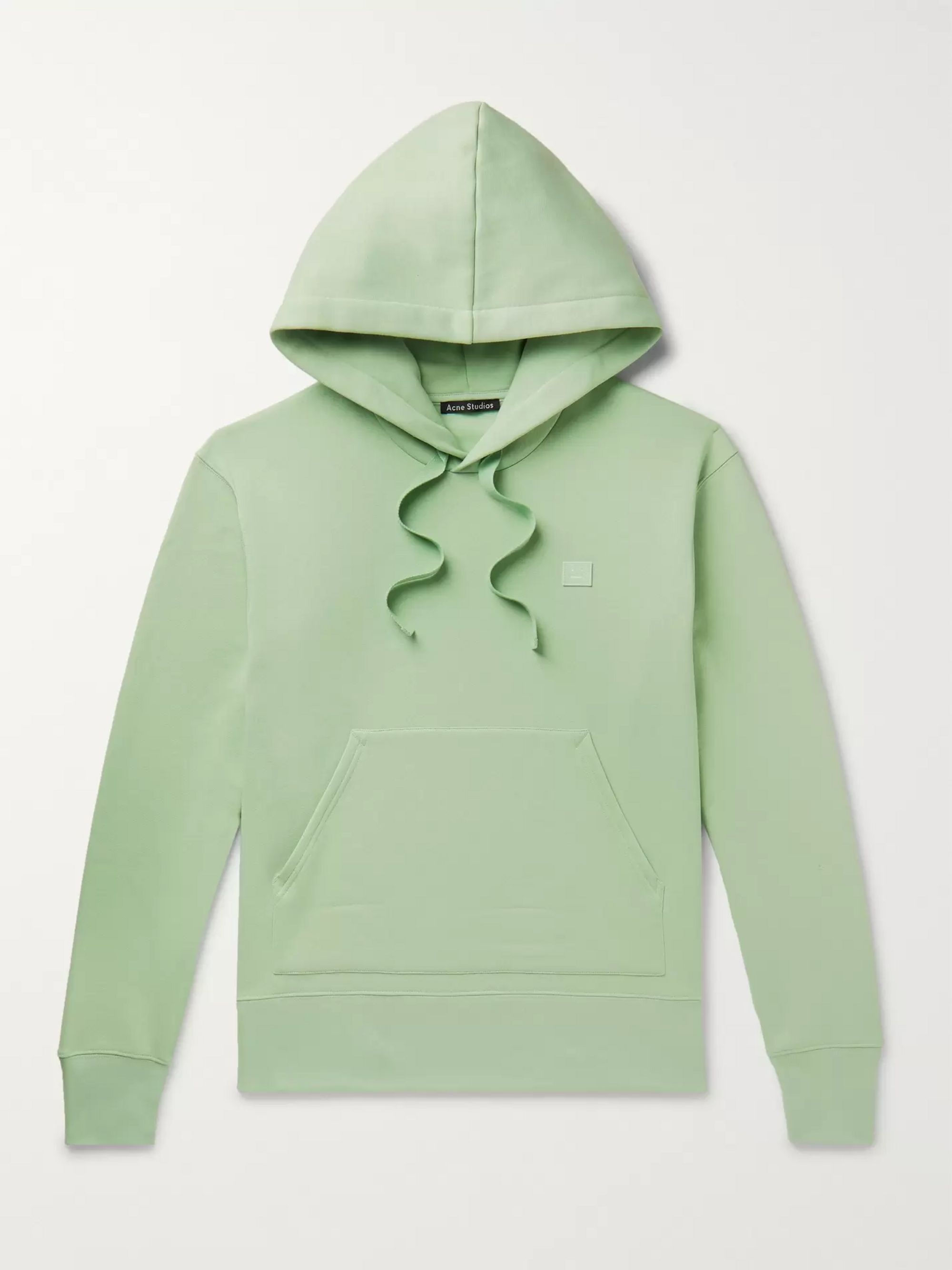 ACNE STUDIOS Ferris Fleece-Back Cotton-Jersey Hoodie