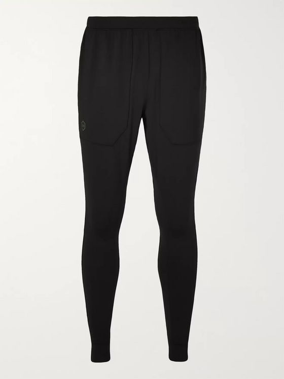 Under Armour UA Rush Cellient Tapered Stretch Tech-Jersey Sweatpants
