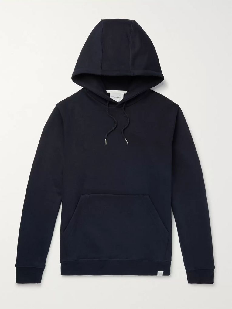 Norse Projects Vagn Loopback Cotton-Jersey Hoodie