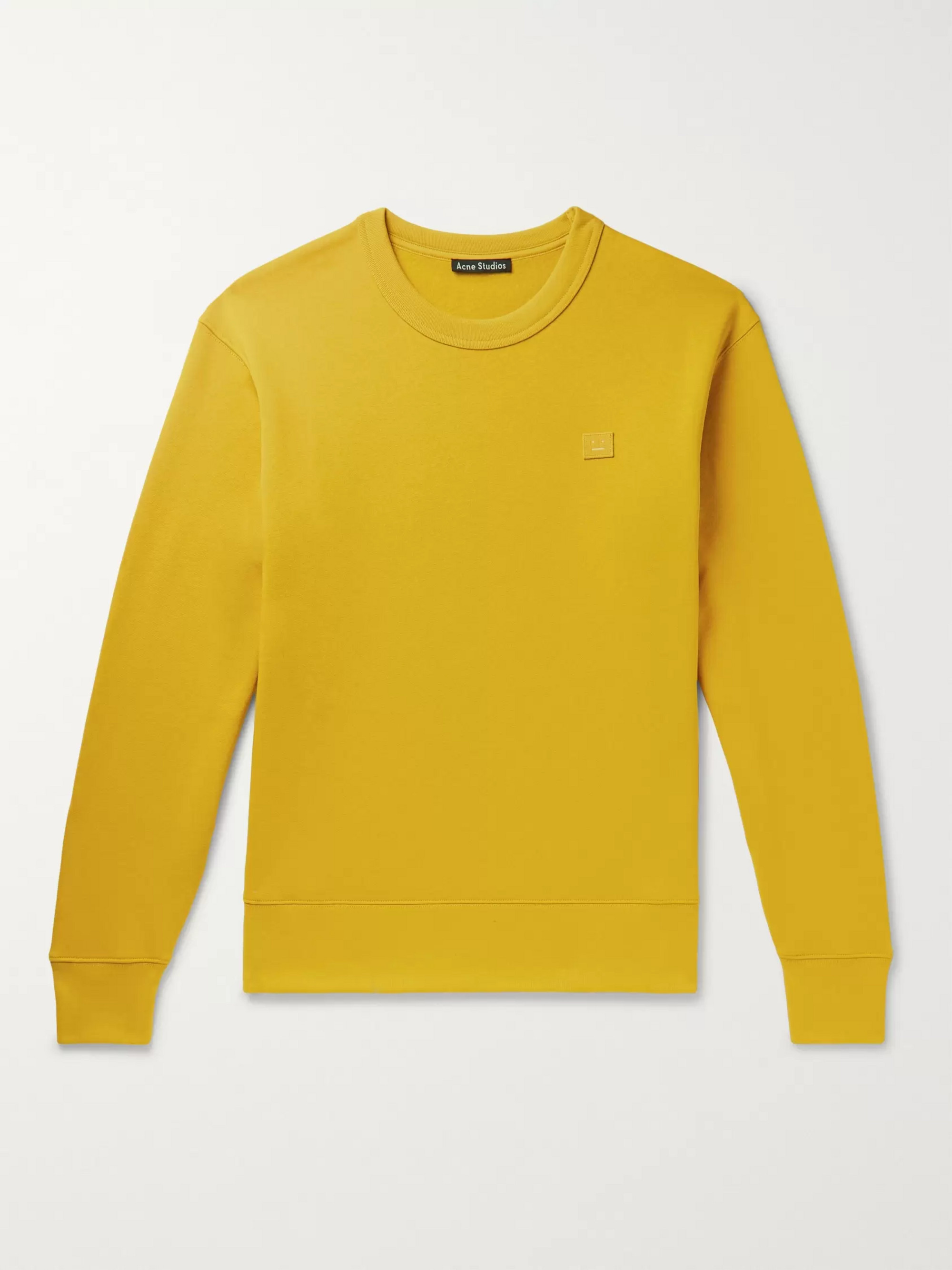 Acne Studios Fairview Fleece-Back Cotton-Jersey Sweatshirt