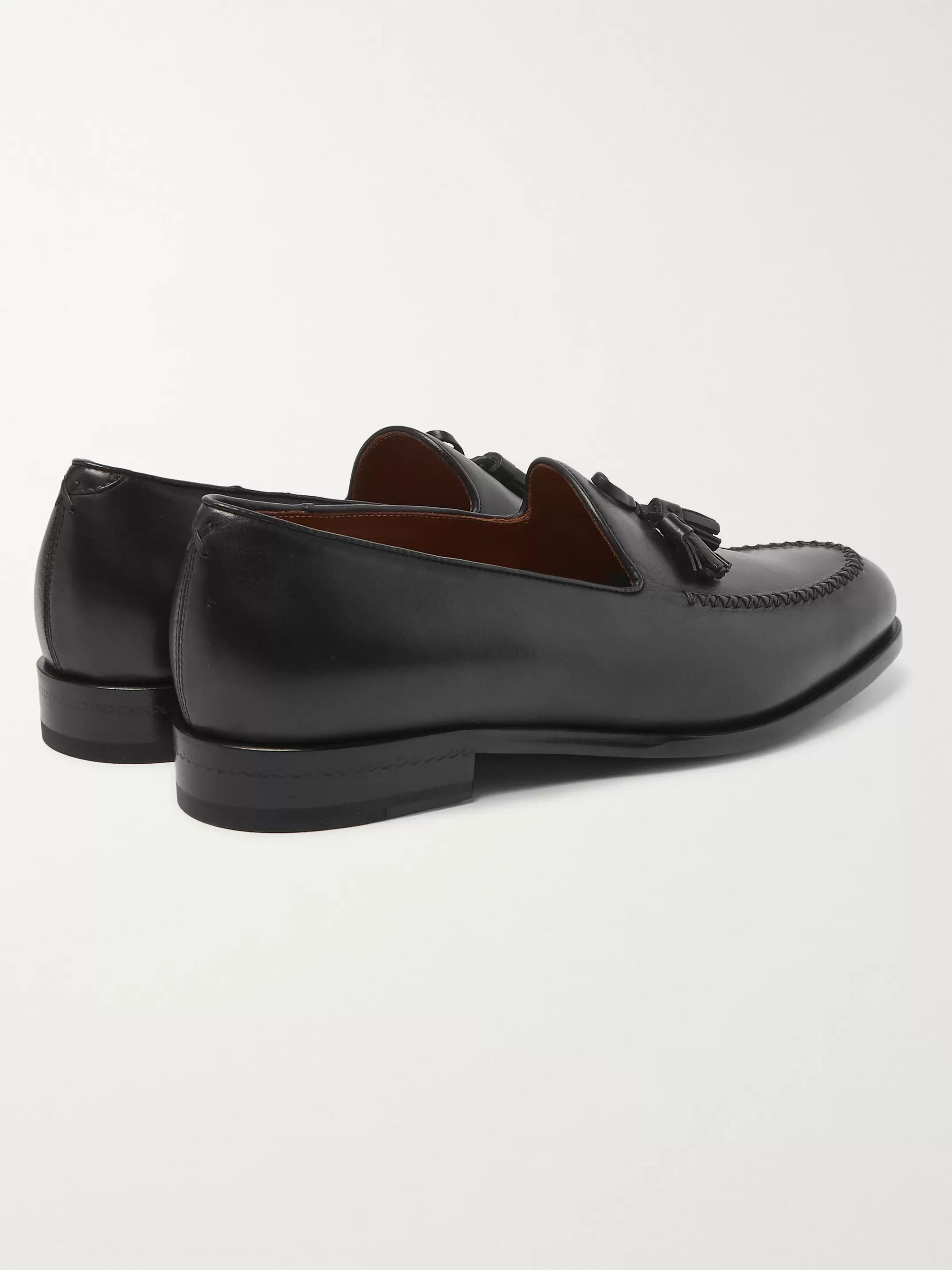 Ermenegildo Zegna Patrizio Tasselled Leather Loafers