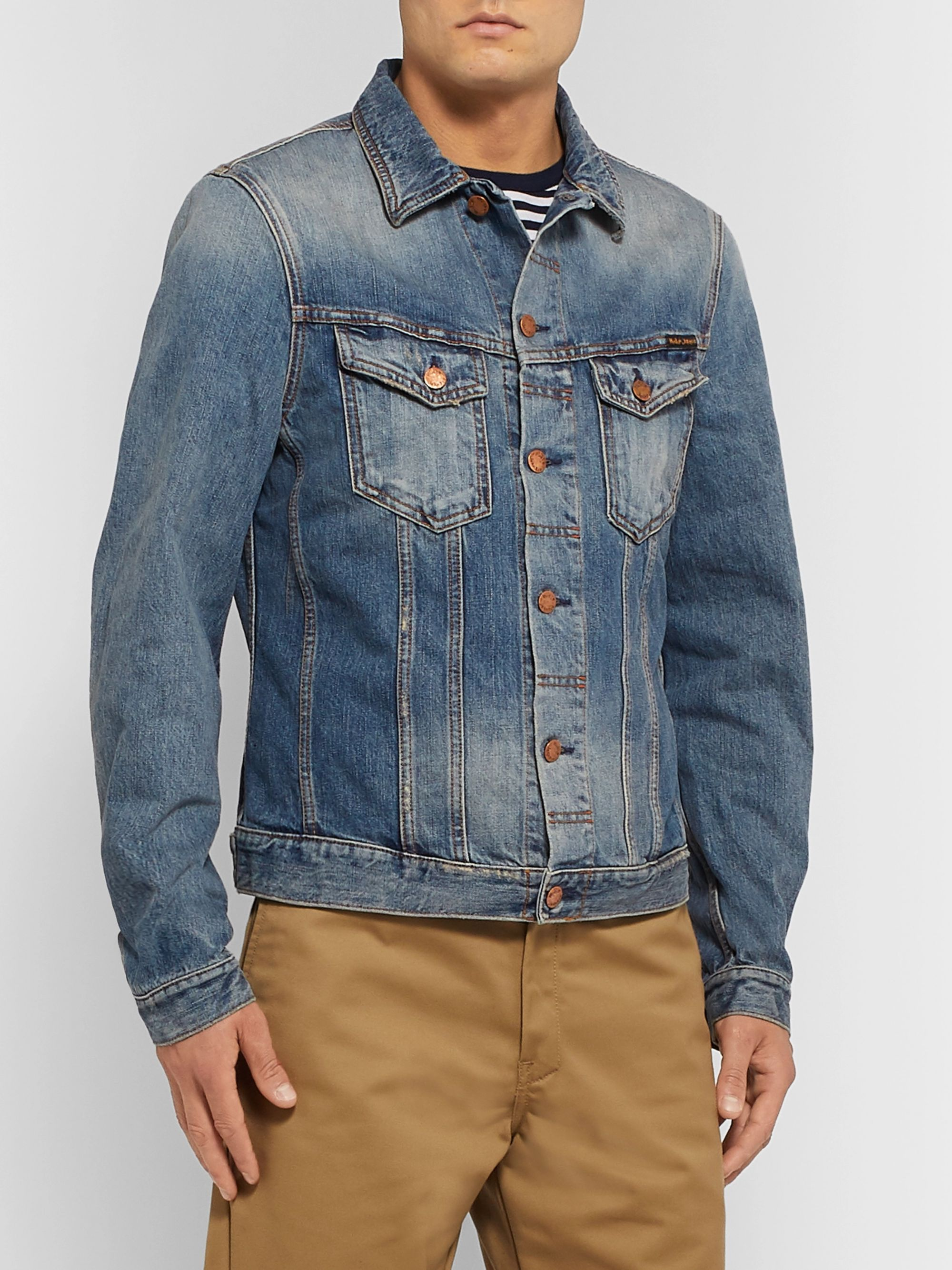 Nudie Jeans Billy Slim-Fit Organic Denim Jacket