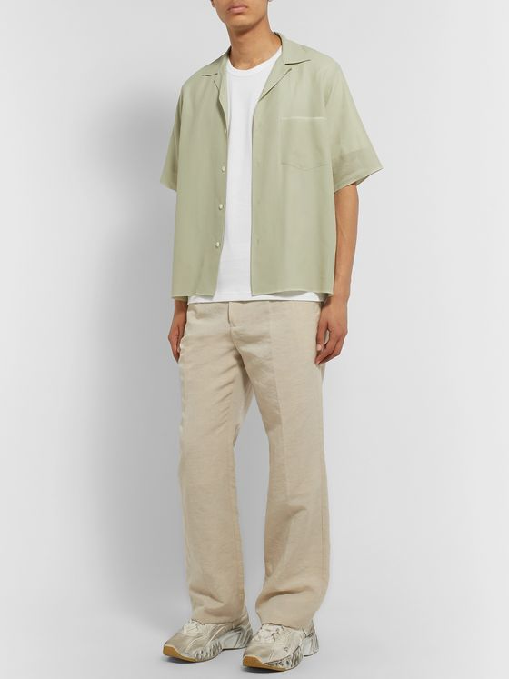 Acne Studios Appliquéd Cotton-Jersey T-Shirt