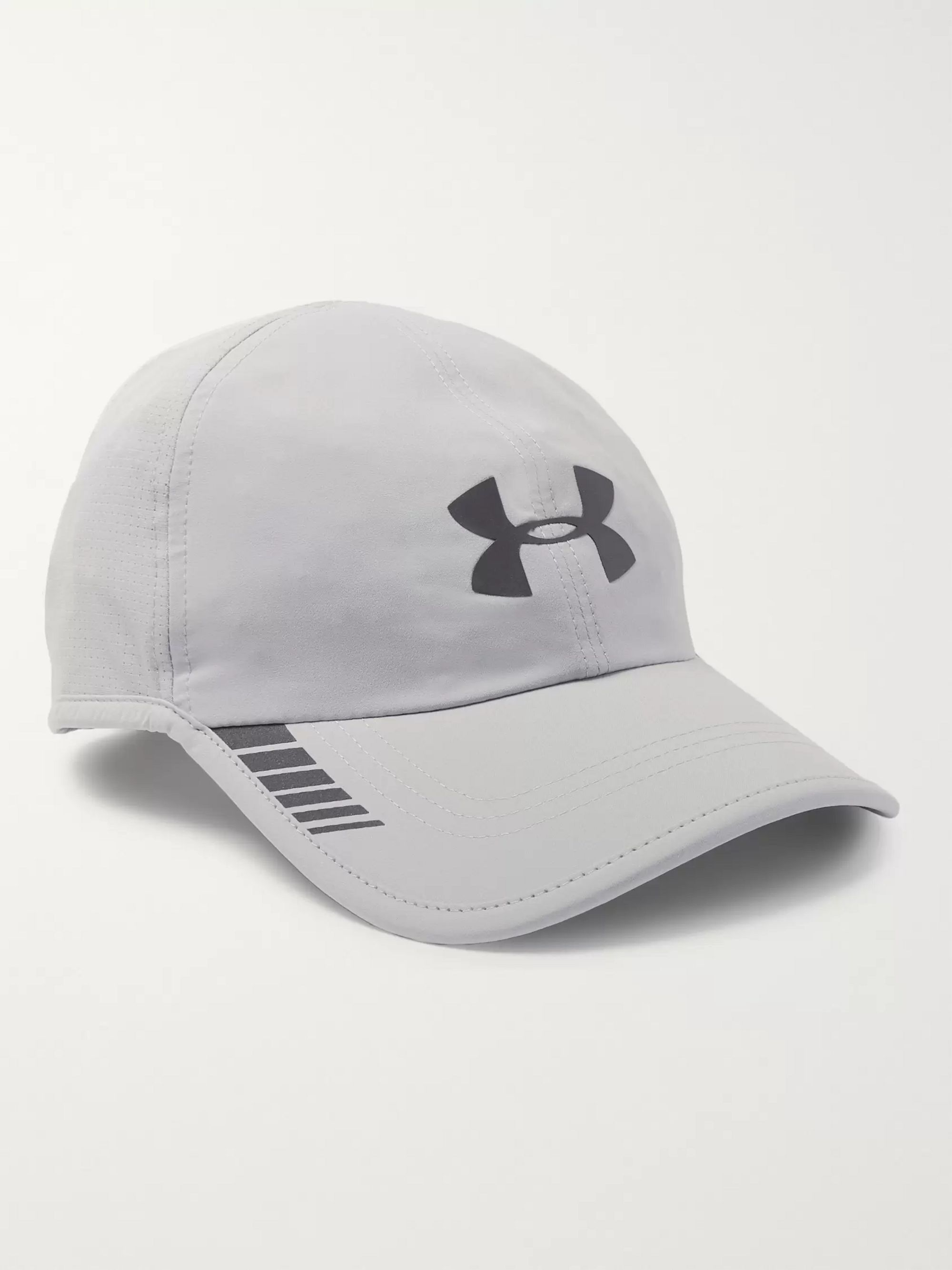 Under Armour Logo-Print ArmourVent Mesh Baseball Cap