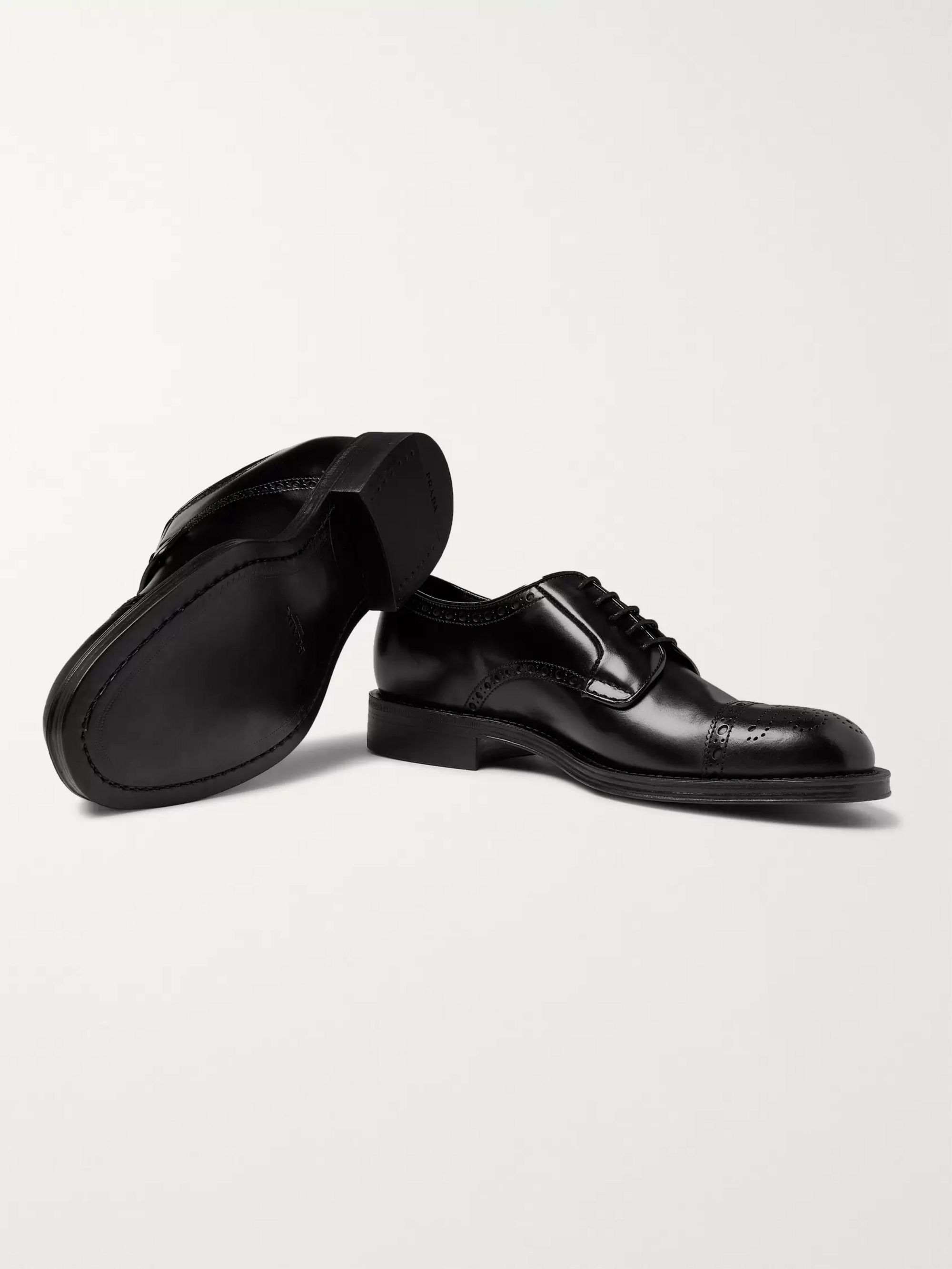 Prada Leather Brogues