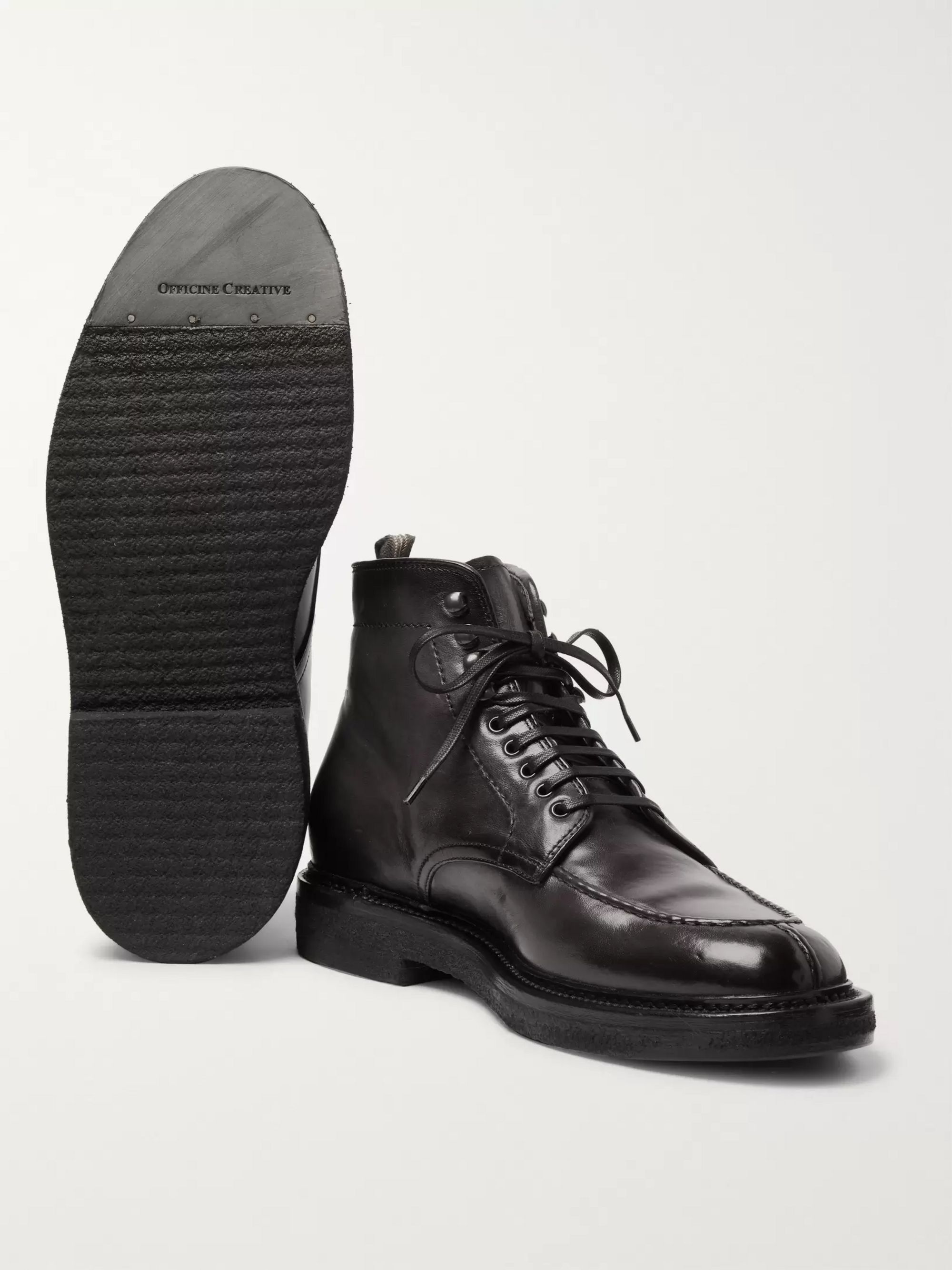 Officine Creative Stanford Leather Boots
