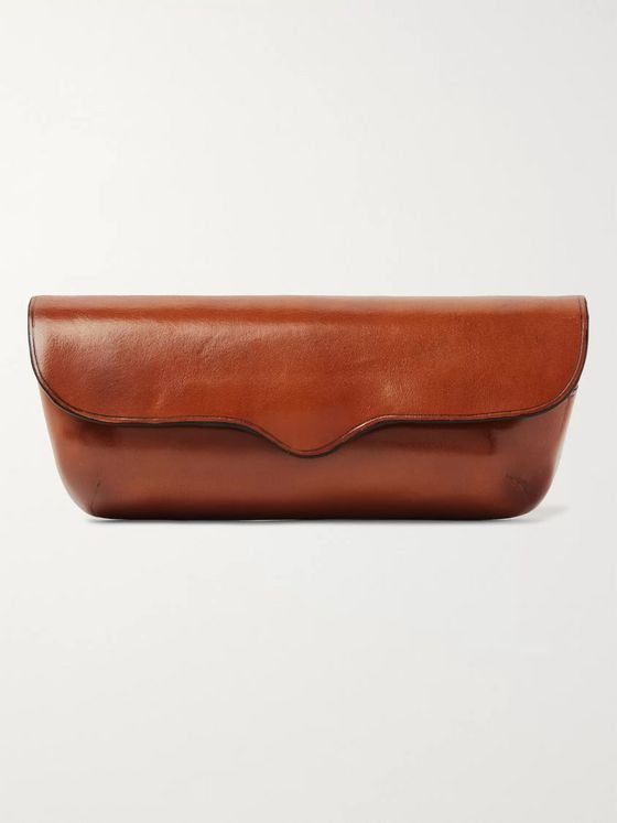 Il Bussetto Polished-Leather Glasses Case
