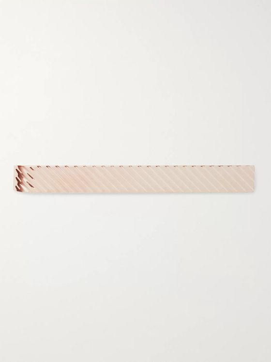Kingsman + Deakin & Francis Rose Gold-Plated Tie Bar