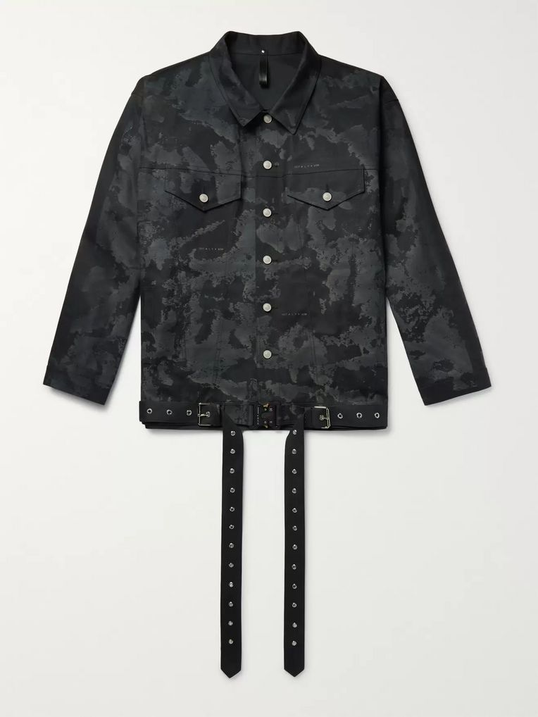 1017 ALYX 9SM + Mackintosh Printed Bonded Cotton Trucker Jacket