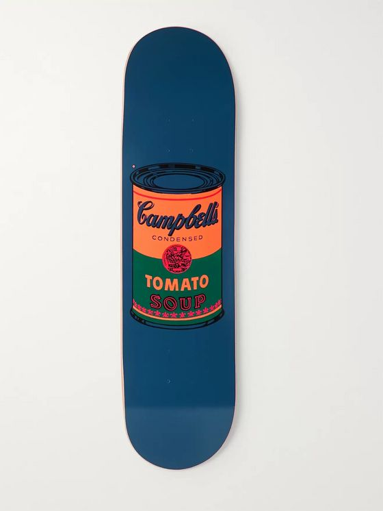 THE SKATEROOM + Andy Warhol Printed Wooden Skateboard