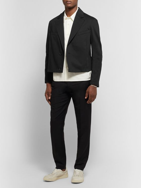 Our Legacy Cropped Cotton-Twill Jacket
