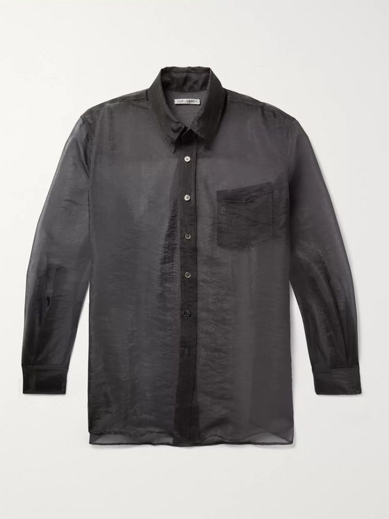 Our Legacy Oversized Organza Shirt