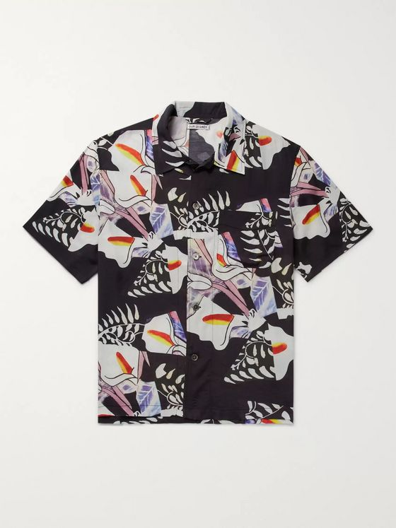 Our Legacy Printed Matte-Satin Shirt