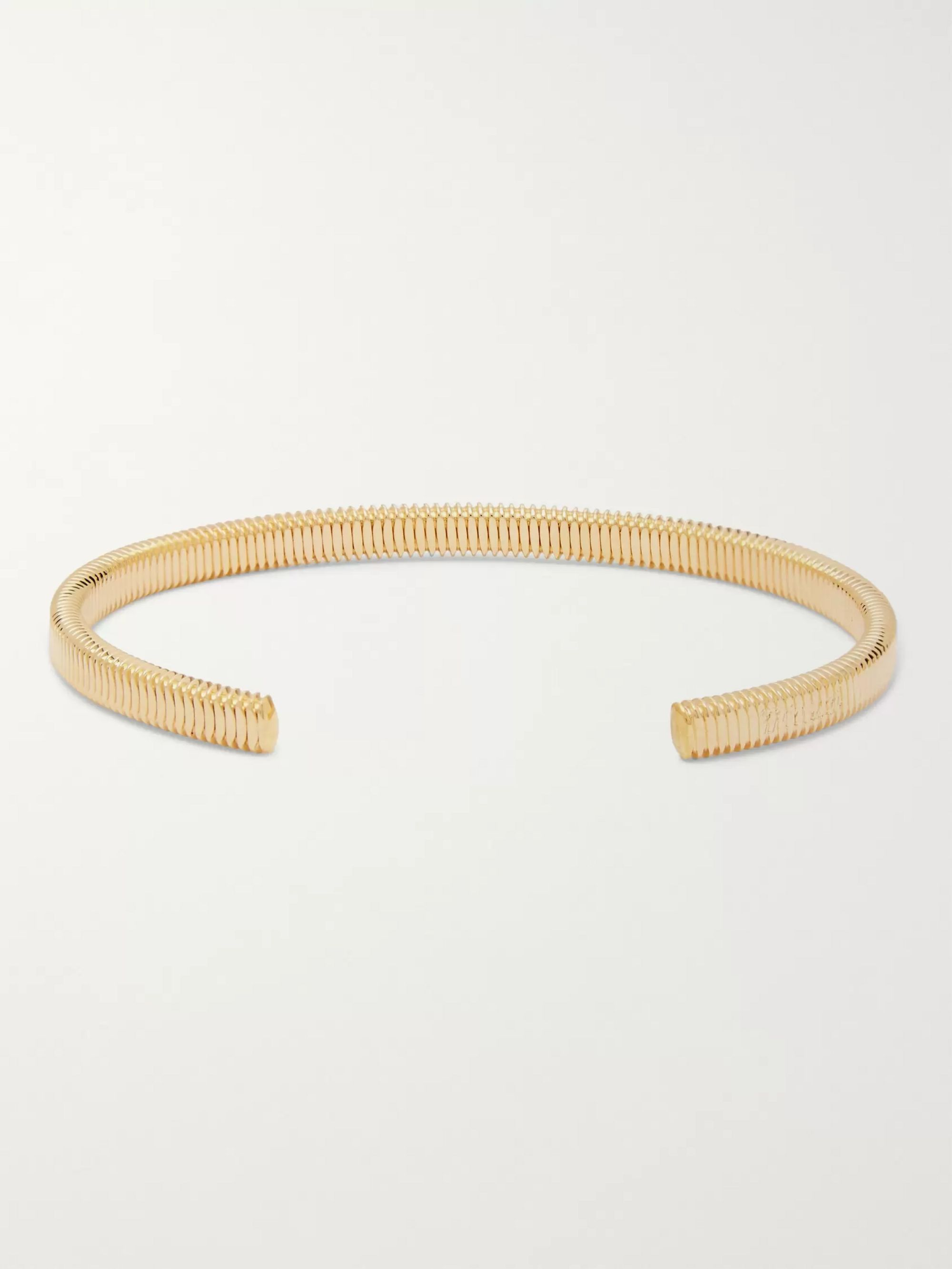 Miansai Thread Gold-Plated Cuff