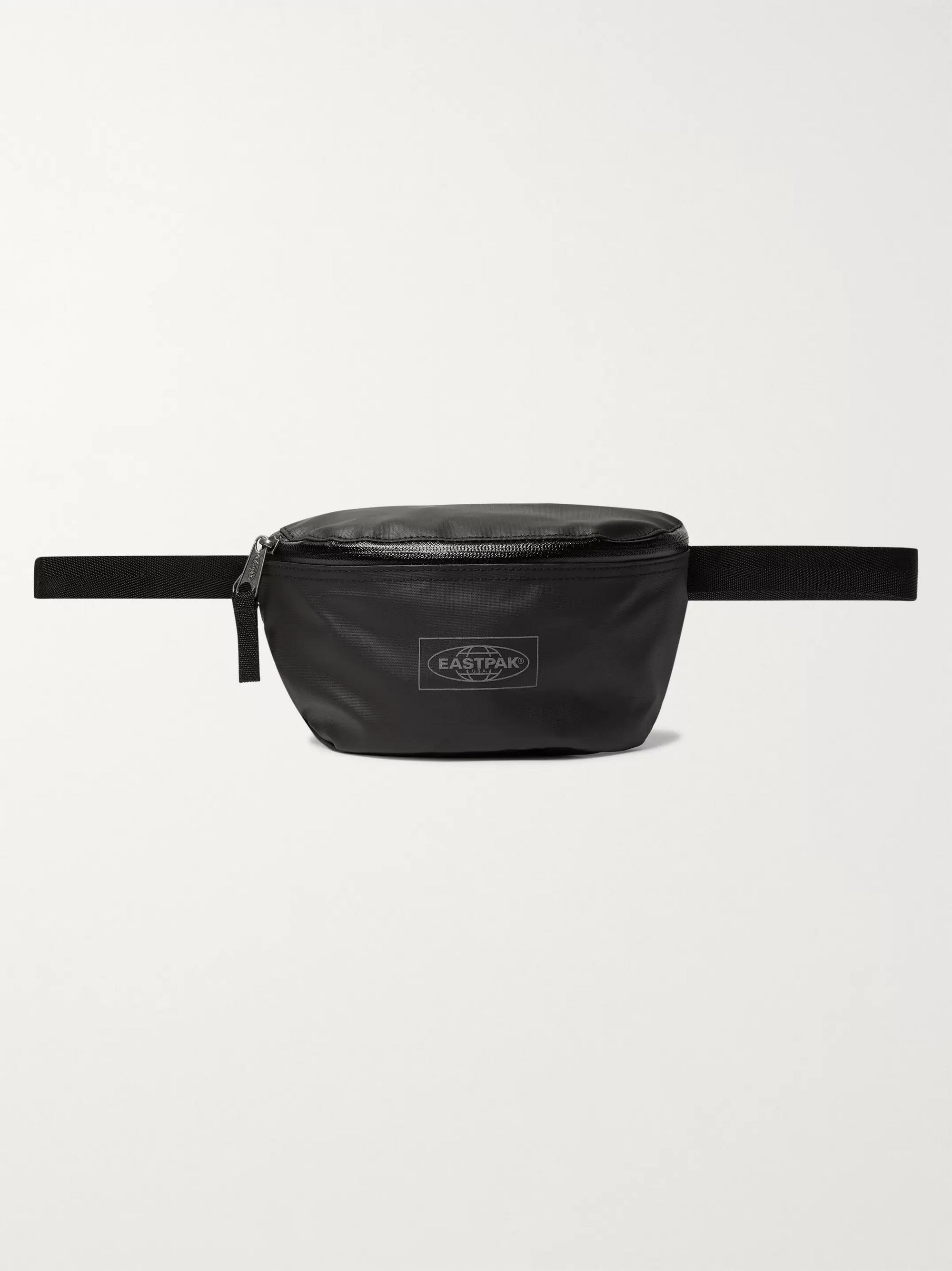 Eastpak Springer Leather-Trimmed Ballistic Nylon Belt Bag