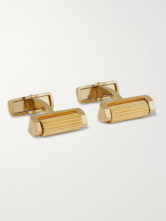 Dunhill Gold-Plated Cufflinks