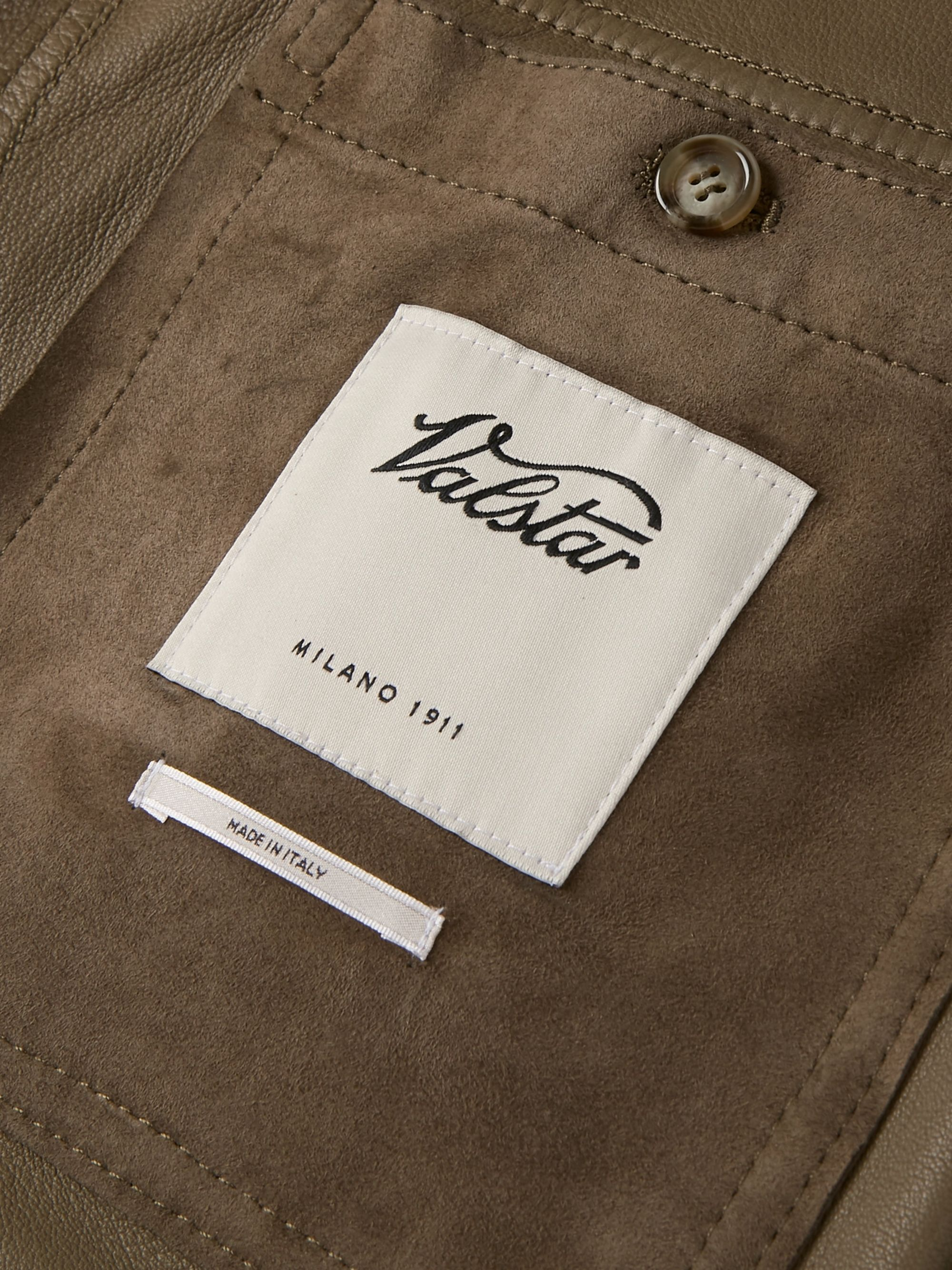 Valstar Valstarino Slim-Fit Unlined Suede Bomber Jacket