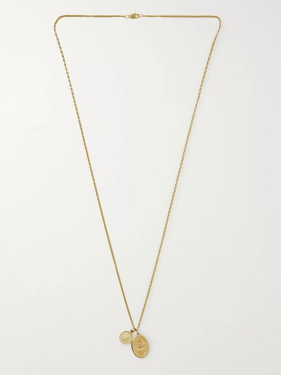 Miansai Dove Gold Vermeil Necklace
