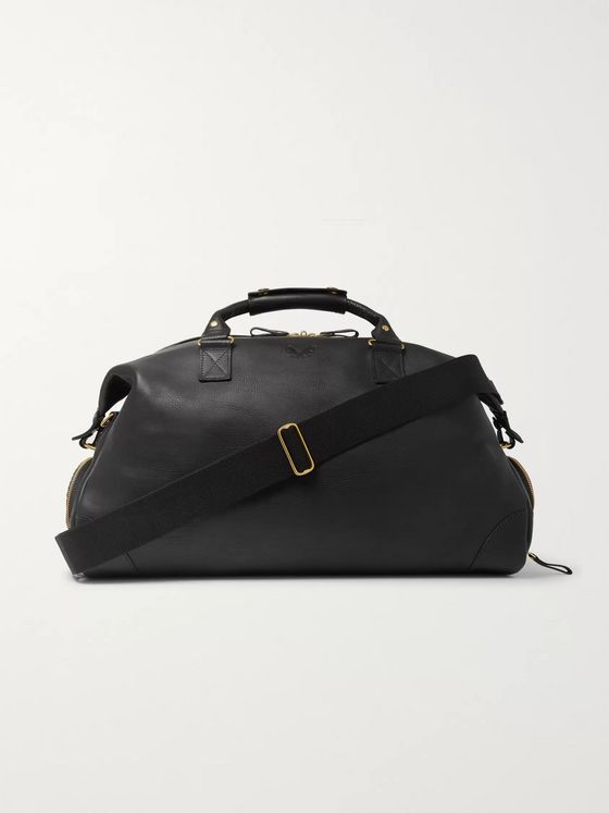 Bennett Winch Weekender Full-Grain Leather Holdall